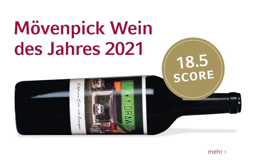 Mövenpick Wein des Jahres 2021