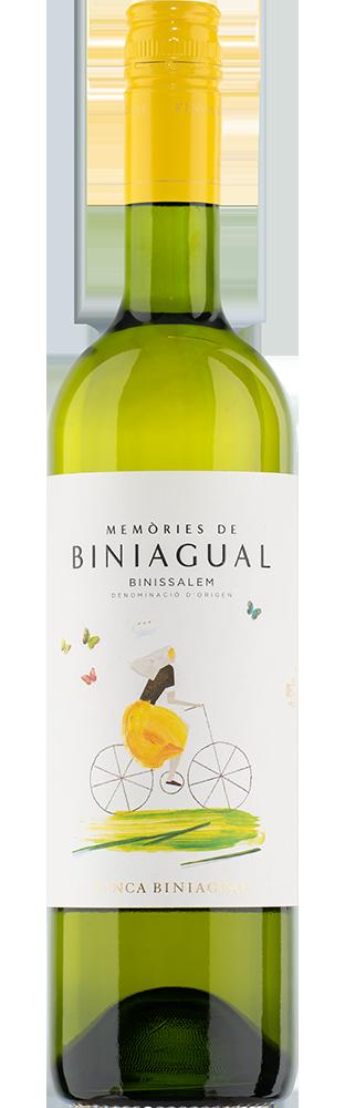 2018 Memòries de Biniagual Blanc Binissalem Mallorca DO Finca Biniagual 750.00