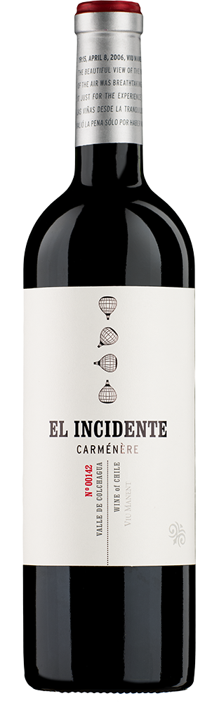 2017 Carménère El Incidente Valle de Colchagua Viña Viu Manent 750.00