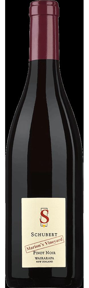 2016 Pinot Noir Marion's Vineyard Wairarapa Schubert Wines 750.00