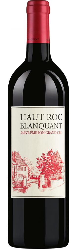 2014 Haut Roc Blanquant Grand Cru St-Emilion AOC Second vin du Ch. Bel Air St-Emilion 750.00