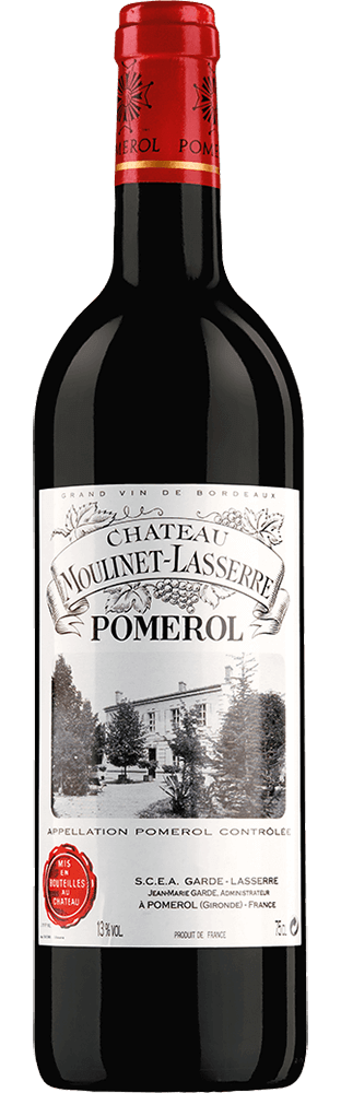 2014 Château Moulinet-Lasserre Pomerol AOC 750.00