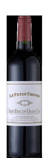 2014 Le Petit Cheval Grand Cru St-Emilion AOC Second Vin du Ch. Cheval Blanc 750.00