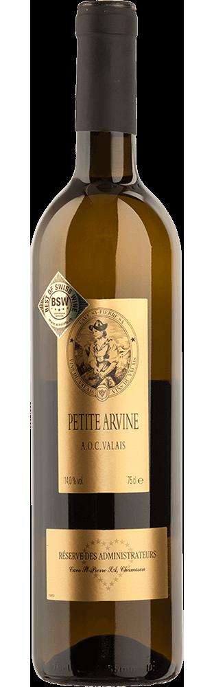 2019 Petite Arvine Valais AOC Réserve des Administrateurs Cave St-Pierre 750.00