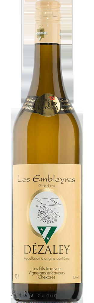 2018 Les Embleyres Dézaley AOC Grand Cru Les Fils Rogivue 700.00