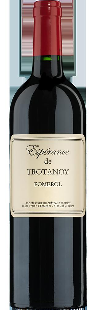 2015 Espérance de Trotanoy Pomerol AOC Second vin du Château Trotanoy 750.00