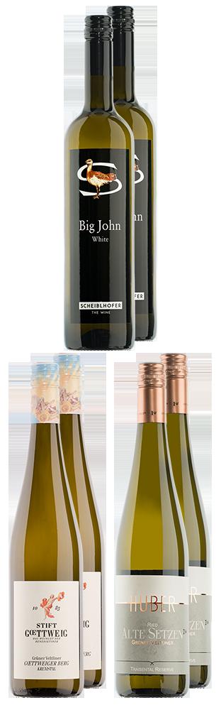 Tasting Box Weissweine Österreich Tasting Box vins blancs d'Autriche 4500.00
