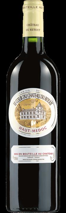 2006 Le Coeur du Château du Retout Haut-Médoc AOC 9000.00