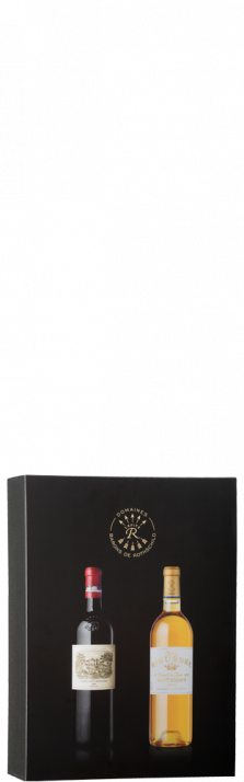20th Anniversary Box Lafite Rothschild 1999 Rieussec 2003 1500.00