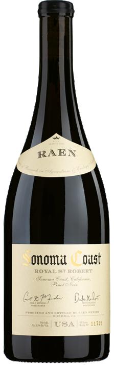 2017 Pinot Noir Royal St. Robert Sonoma Coast Carlo & Dante Mondavi RAEN Winery 750.00