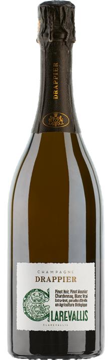 Champagne Extra-Brut Clarevallis Drappier (Bio) 750.00