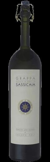 Grappa di Sassicaia Tenuta San Guido Jacopo Poli Marchesi Incisa della Rocchetta 500.00