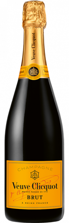 Champagne Brut Carte Jaune Veuve Clicquot Ponsardin 750.00