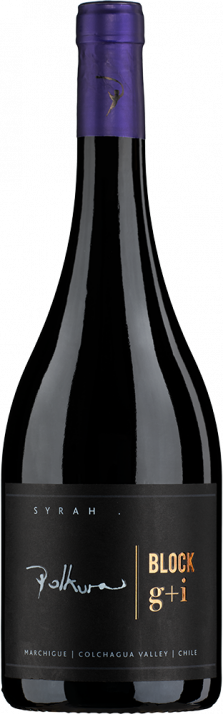 2017 Syrah Block G+I Marchigue Colchagua Valley Viña Polkura 750.00
