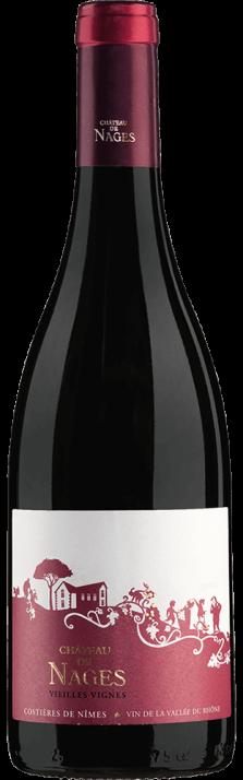 2017 Château de Nages Rouge Vieilles Vignes Costières de Nîmes AOP (Bio) 750.00
