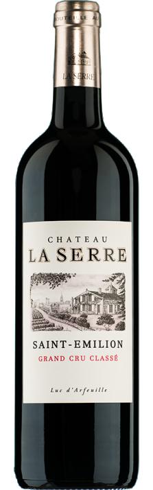 2017 Château La Serre Grand Cru Classé St-Emilion AOC 750.00