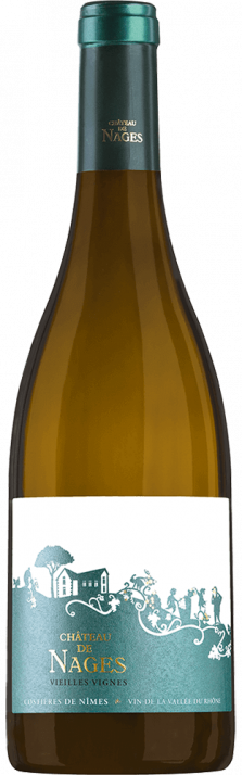 2015 Château de Nages Blanc Vieilles Vignes Costières de Nîmes AOC (Bio) 750.00