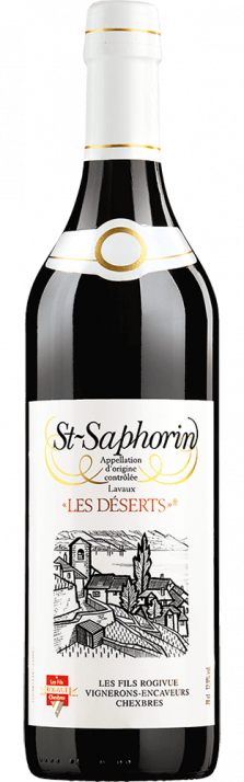 2018 Les Déserts Rouge St-Saphorin Lavaux AOC Les Fils Rogivue 700.00