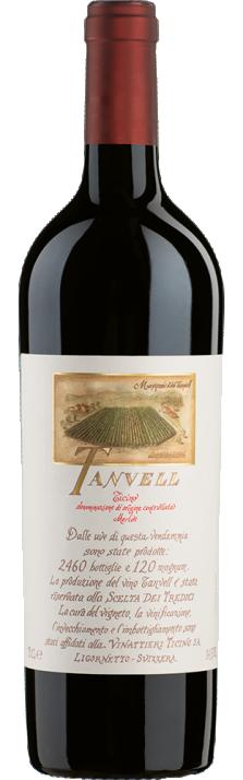 2017 Tanvell Merlot Ticino DOC Zanini Vinattieri 750.00
