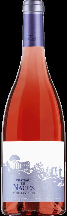 2018 Château de Nages Rosé Vieilles Vignes Costières de Nîmes AOP (Bio) 750.00