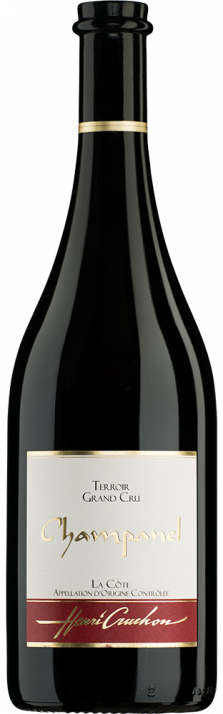2017 Pinot Noir Champanel La Côte Grand Cru AOC Domaine Henri Cruchon 750.00