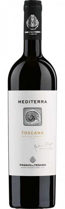2019 Mediterra Toscana IGT Poggio al Tesoro 750.00