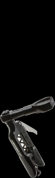 Zapfenzieher Original PM-100 Schwarz Tire-bouchon Original PM-100 Noir Le Creuset - Screwpull 49100001400100
