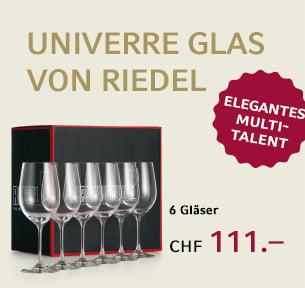 Univerre Glas von Riedel