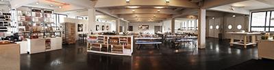 multifunktionalen Tagesrestaurant *KUTCHiiN und der *KOUNGE