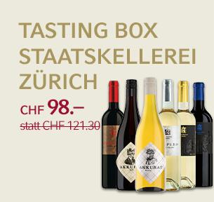 Tasting Box Staatskellerei Zürich
