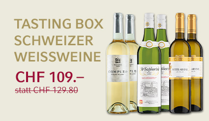 Tasting Box Schweizer Weissweine