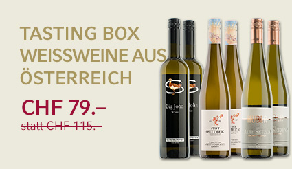 Tasting Box Weissweine Österreich