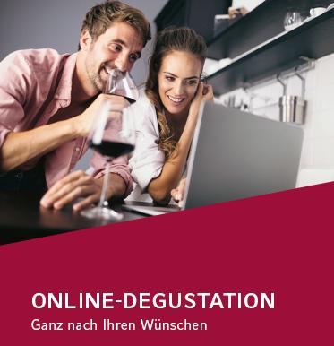 Online Degustation nach Ihren Wünschen