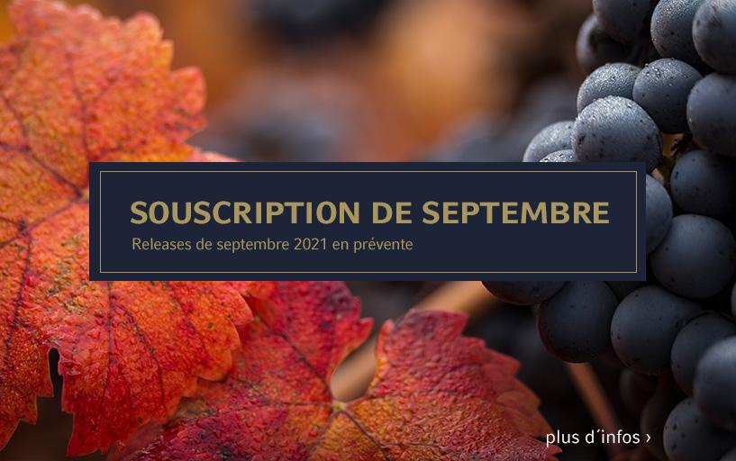 Souscription de septembre