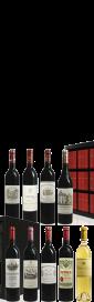 2016 Bordeaux Collection Duclot Haut-Brion,Lafite Rothschild, Ausone Margaux,Mouton Rothschild,Cheval Blanc, Mission Haut-Brion,Pétrus,Yquem 6750.00