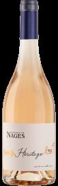 2020 Château de Nages Rosé Héritage Costières de Nîmes AOP (Bio) 750.00