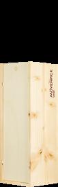 Holzkiste / Caisse Bois 1 x 150 cl Logo Mövenpick
