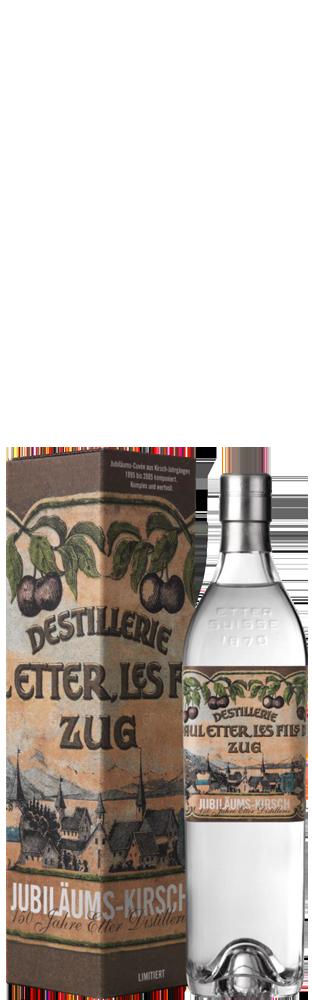 Kirsch Jubiläum 150 Jahre Retroflasche Distillerie Etter 700.00