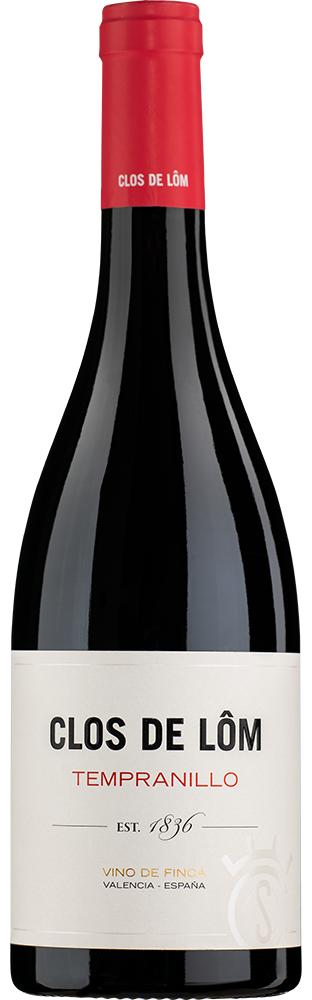 2018 Tempranillo Vino de Finca Valencia DO Clos de Lôm 750.00