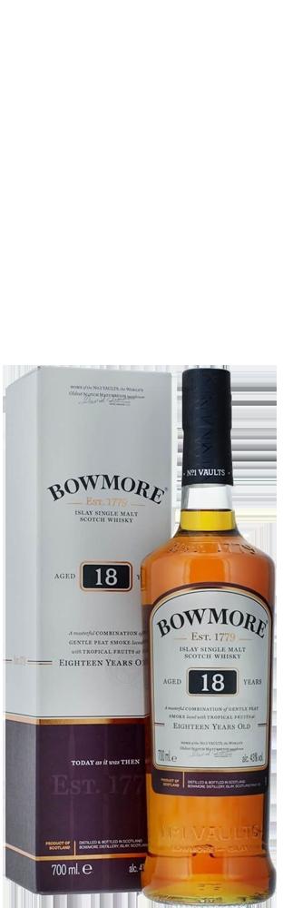 Whisky Bowmore 18 Years Single Islay Malt 700.00