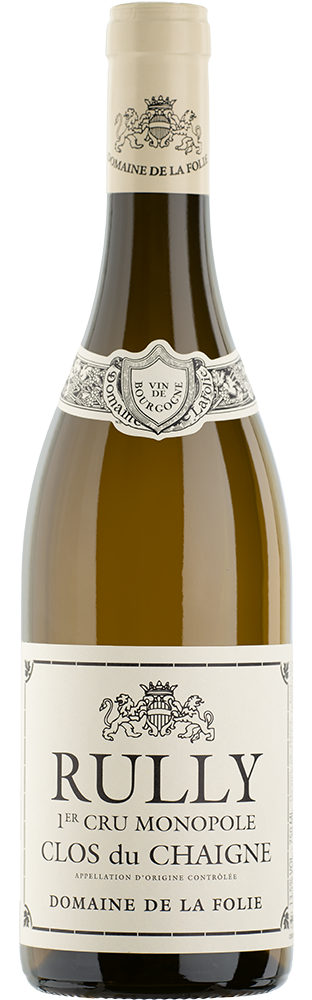 2019 Rully Clos du Chaigne Monopole 1er Cru AOC Blanc Domaine de la Folie 750.00