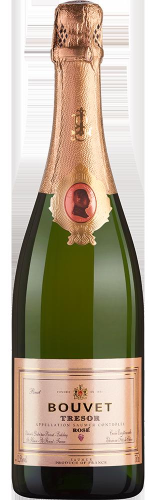 Trésor Rosé AOC Brut Bouvet 750.00