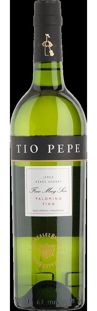 Sherry Palomino Fino Muy Seco Tio Pepe Gonzalez Byass 750.00