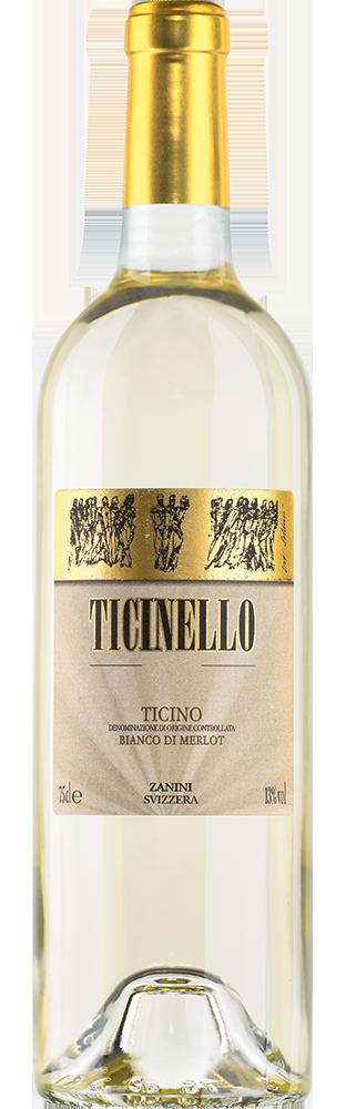 2019 Ticinello Merlot Bianco Ticino DOC Zanini Vinattieri 750.00