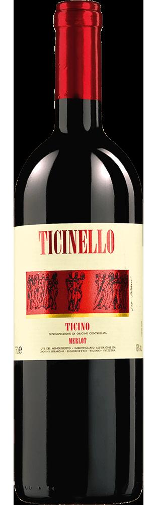 2017 Ticinello Merlot Ticino DOC Zanini Vinattieri 750.00