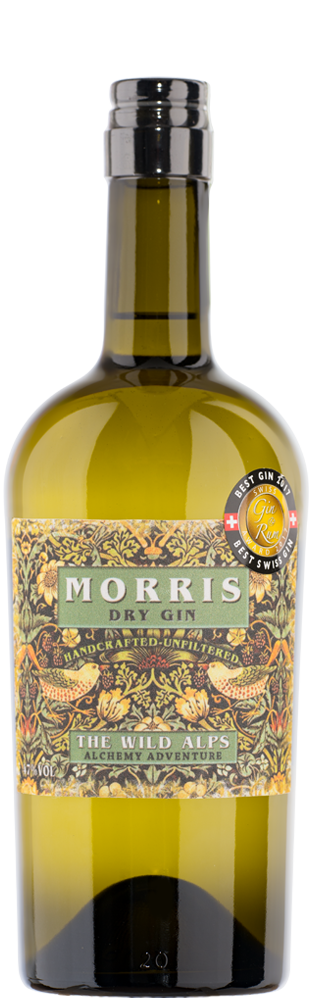 Gin Morris London Dry The Wild Alps 750.00