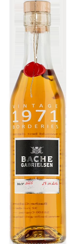 1971 Cognac Borderies Bache-Gabrielsen 350.00