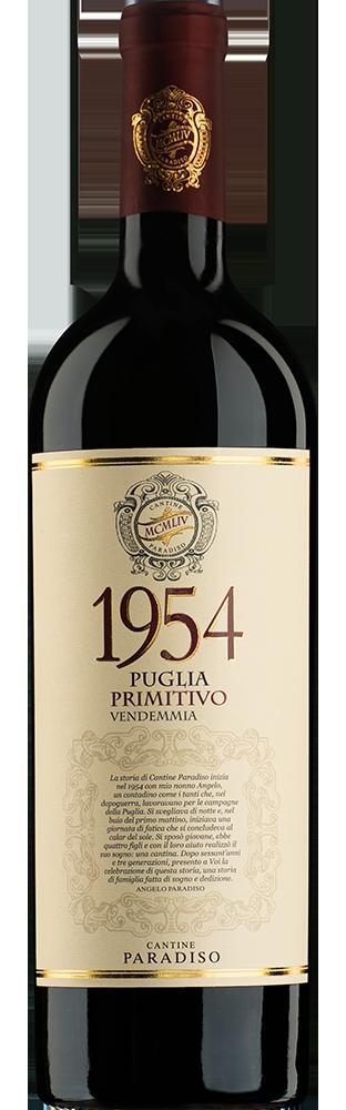 2018 1954 Primitivo Puglia IGP Vinolea Paradiso 750.00