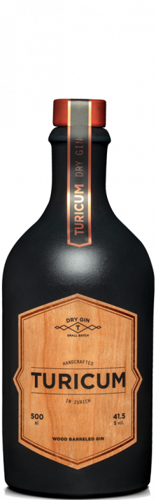 Gin Turicum Wood Barreled Zürich Dry 500.00