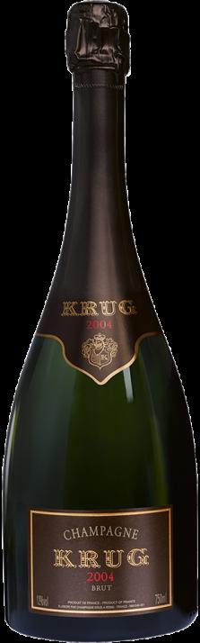 2004 Champagne Brut Millésimé Krug 750.00